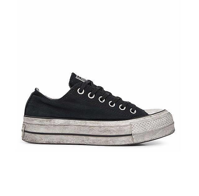 CONVERSE LIMITED EDITION AS OX CANVAS BLACK SMOKE IN 564528C