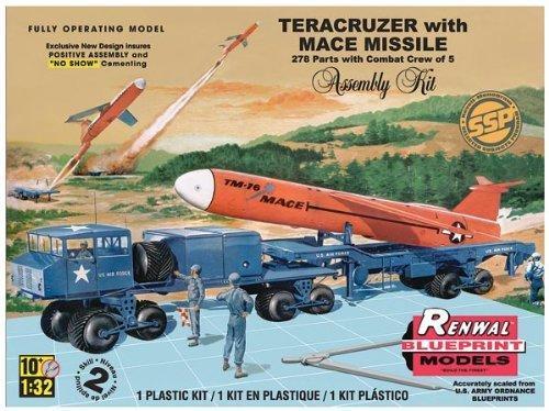 REVELL 85-7812 monogramma scala: 1:32 teracruzer con missile Modello Kit