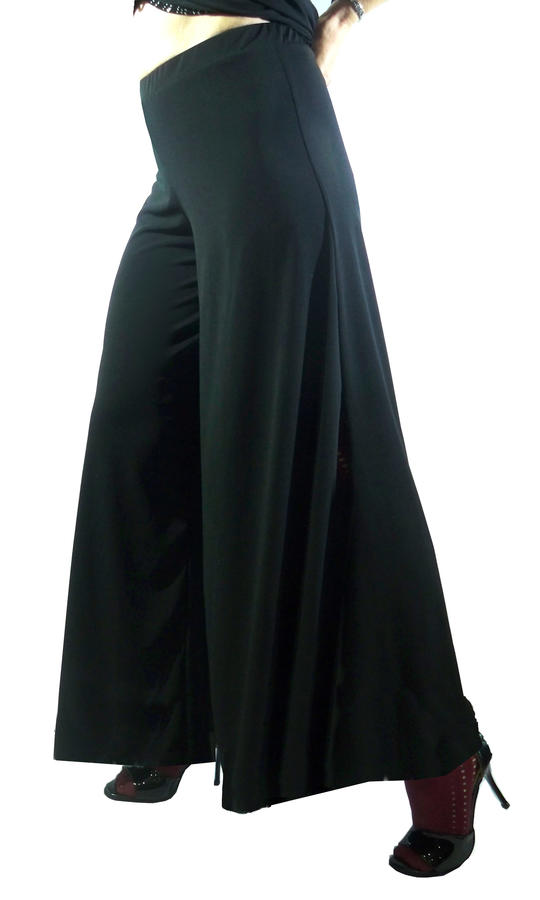 LARGE PANTS IN BOTTOM LONG VERSION WITHOUT SIDE SLITS 1-0020