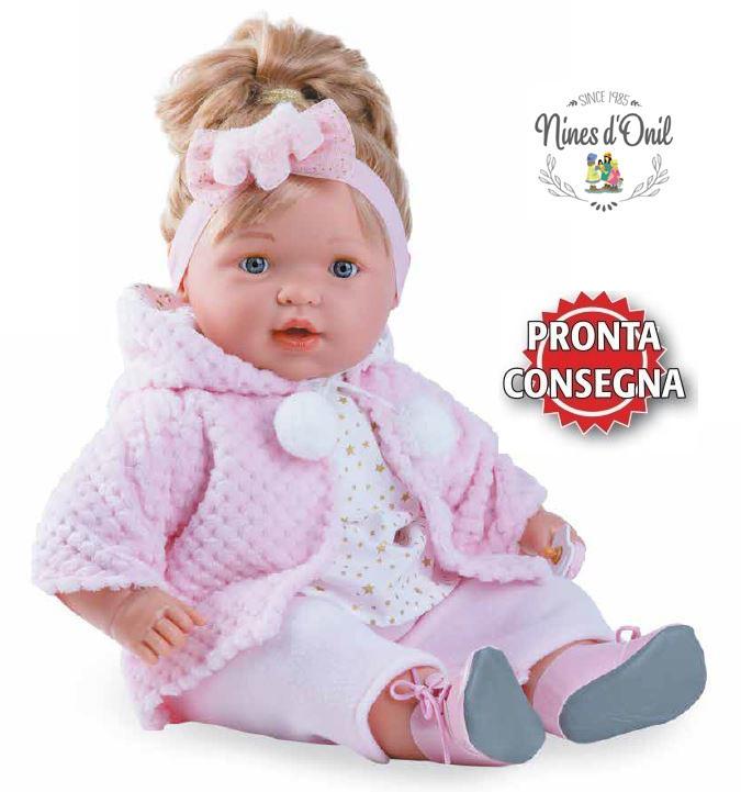Bambola Nines d'Onil Claudia Profumata in Vinile Completa di Scatola