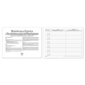 REGISTRO ANTIRICICLAGGIO PER PROFESSIONISTI E REVISORI CONTABILI - BUFFETTI 282600100