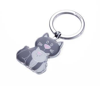 "Portachiavi ""Cat & Kitty"""