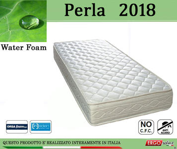 Materasso Espanso Mod. Perla 2018 da Cm. 150 Water Foam No CFC - Ergorelax