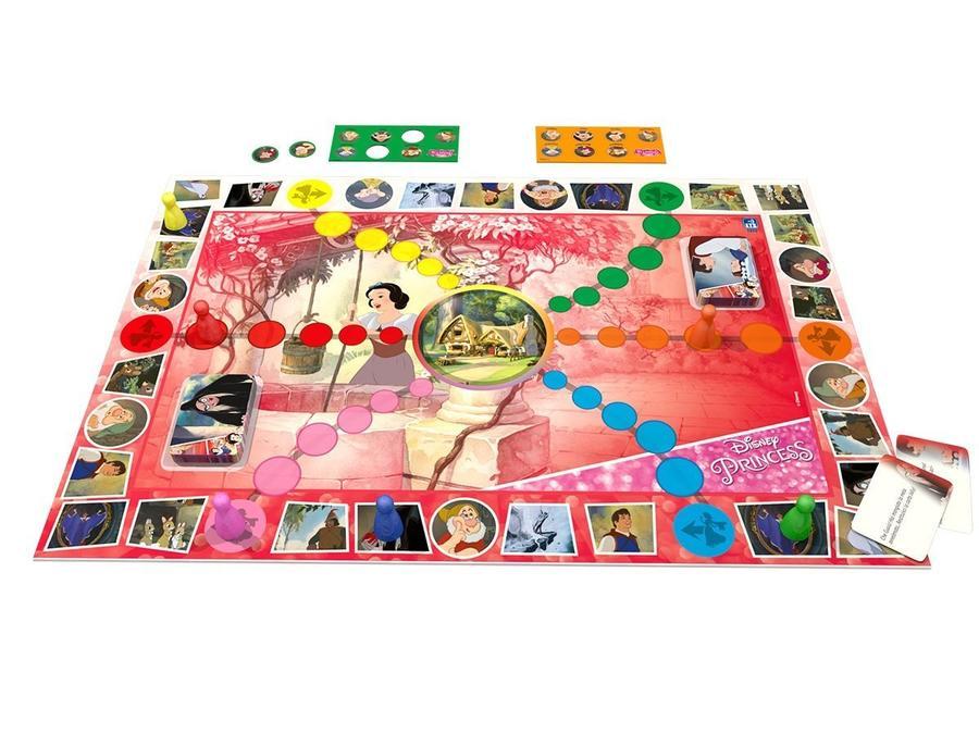 ETS Toys 51024 Gioco in Scatola Classico Biancaneve da 2 a 6 giocatori 5+