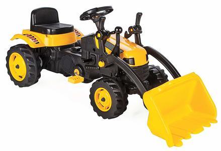 Escavatore Giocattolo a pedali Pilsan 07 315 Giallo con pala attivabile manualmente 3+ anni