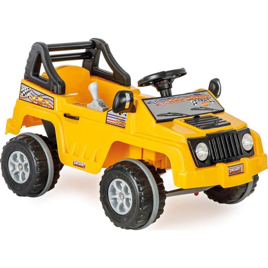 Auto bimbi Fuoristrada Motorizzato elettrico 6v Pilsan 05 247 Giallo 3+