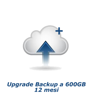 Upgrade Backup a 300 GB - 12 mesi