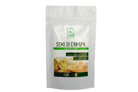 SEMI DI CANAPA DECORTICATI DA 125 GR.