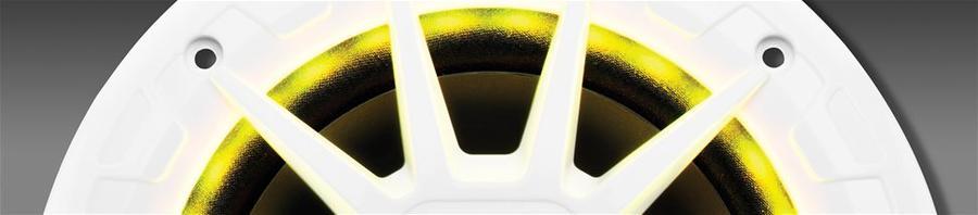 Altoparlanti Nautici MRGB65 Argento con LED di Illuminazione di BOSS MARINE - Offerta di Mondo Nautica  24