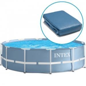 Liner vasca per piscina intex rotonda 457 x 122 nuovo modello rinforzato