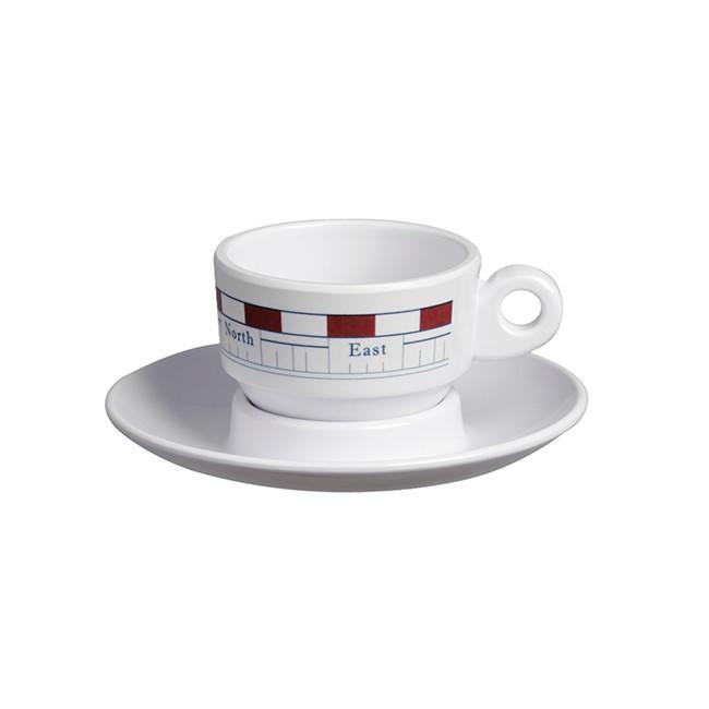 Set Caffè in Melanina Serie MISTRAL di Marine Business - Offerta di Mondo Nautica 24