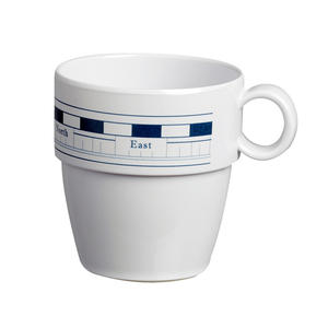 Tazza Mug in Melanina 6 Pezzi Serie MISTRAL di Marine Business - Offerta di Mondo Nautica 24