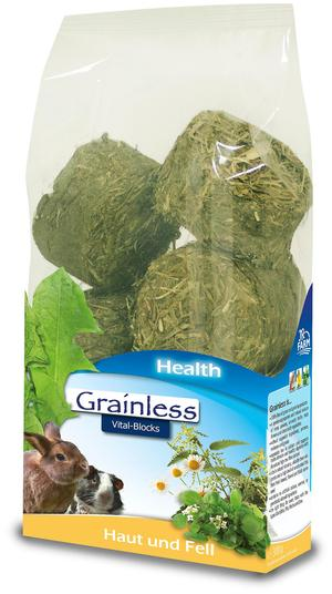 JR Grainless Health Vital Blocks Pelle e Pelo - 300gr