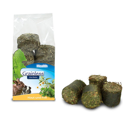 JR Grainless Health Vital Blocks Cute e Pelo - 300gr