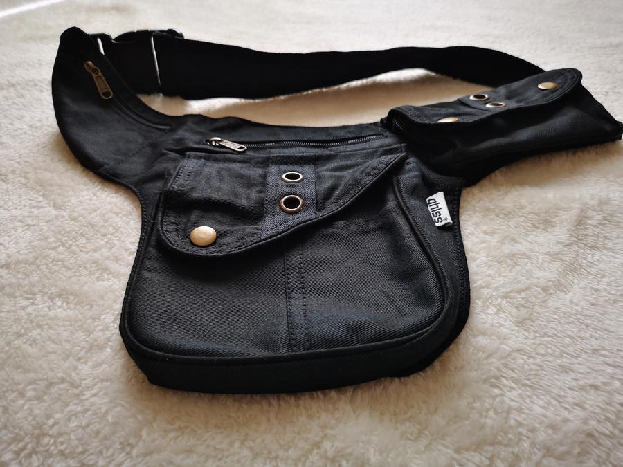 "Hip Bag  ""ROME"" black"