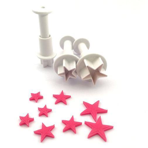 set 3 stampi espulsione stelle