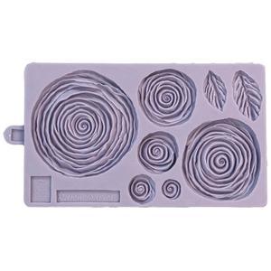 Stampo silicone effetto rose varie misure Karen Davies