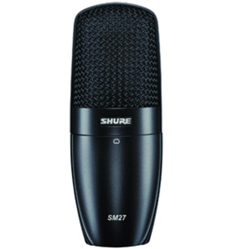 Shure SM 27
