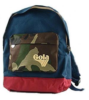 Gola Zaino Walker Blu camouflage rosso CUB145