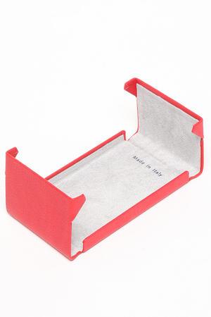 Fedon - Porta biglietti da visita colore rosso apertura verticale