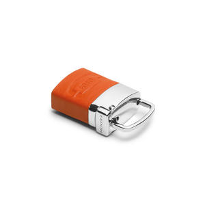 Fedon - Portachiavi in nappa arancione