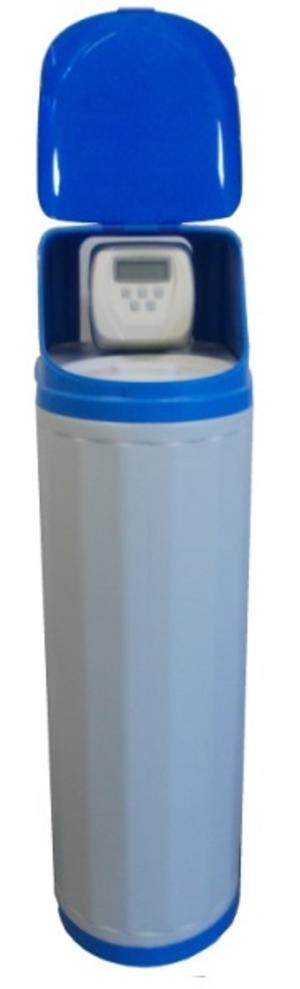 Addolcitore Cabinato 15 litri con valvola di programma Clack.