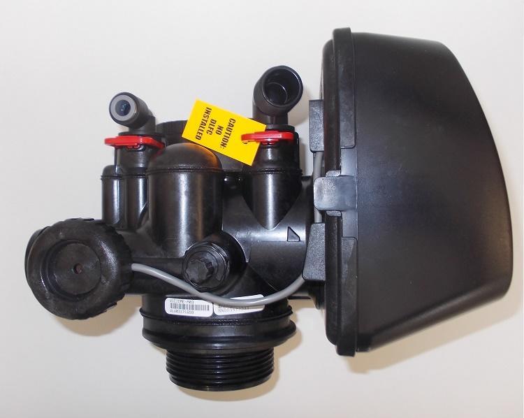 Addolcitore Doppio corpo 30 litri con valvola di programma Clack.