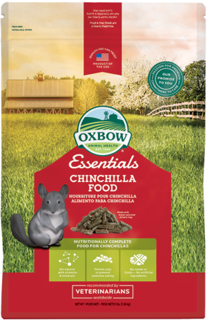 Oxbow Essential Chincilla Food - 1,3 kg.