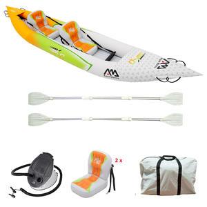Kayak Gonfiabile Package Betta HM K0 2 Posti di Aqua Marina - Offerta di mondo Nautica 24