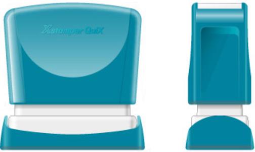 TIMBRO NERO Xstamper Quix   4x60mm