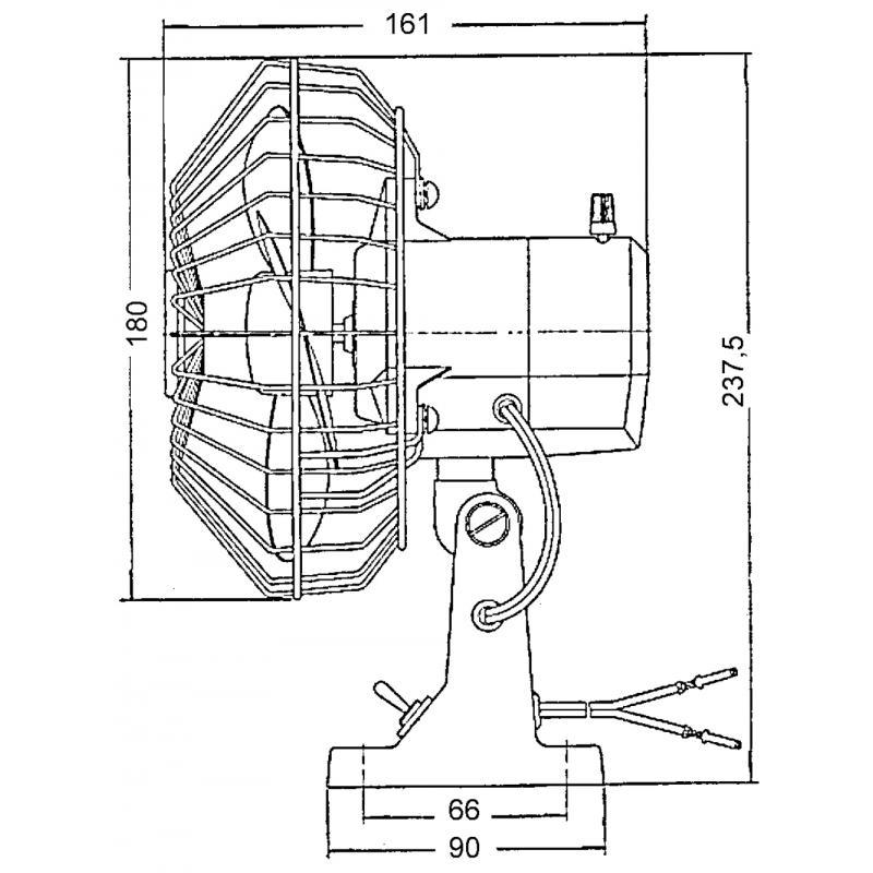 Ventilatore Oscillante 24V. - Offerta di Mondo Nautica 24