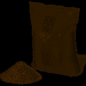 Sabbia al quarzo per piscine essiccata kg 25