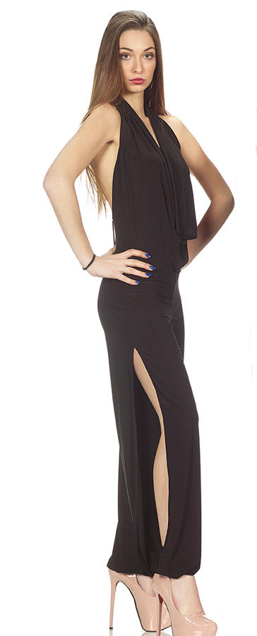 DANCE TRACKSUIT WITH NECKLINE BACK OPEN FROM THE SIDES FINAL TO CUFF 5-0013