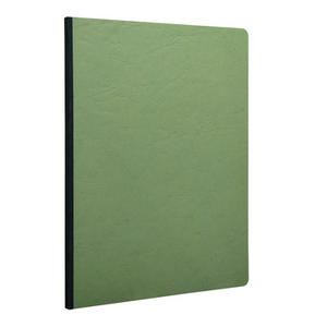 QUADERNO CLAIREFONTAINE A4 96 PG 90 GR VERDE - CARTA A RIGHE