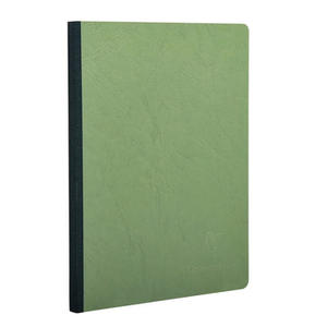 QUADERNO CLAIREFONTAINE A5 96 PG 90 GR VERDE - CARTA A RIGHE