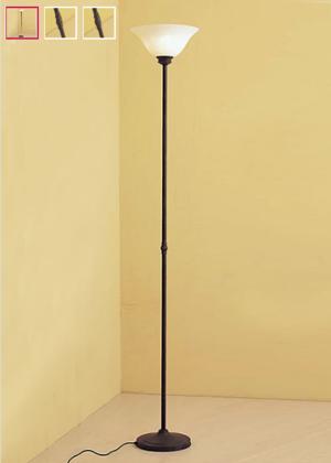 Piantana Classica Etrusco di Febo in Metallo Lavorato Stelo Dritto con Campana in Vetro Scavo Etrusco Vari Colori - Offerta di Mondo Luce 24