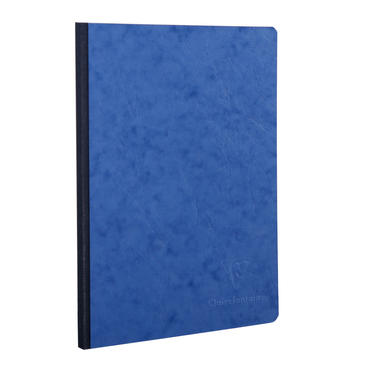 QUADERNO CLAIREFONTAINE A5 96 PG 90 GR BLU - CARTA A RIGHE