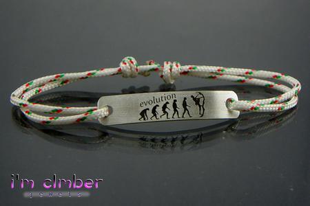 Climb Evolution Bracelet in Silver 925