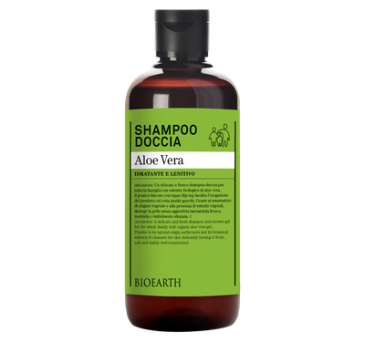 Bioearth - Shampoo-doccia aloe vera