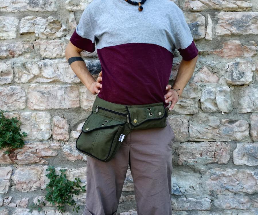 "Hip Bag  ""ROME"" green"