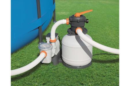 Pompa Filtro A Sabbia Flowclear Bestway 58499 Per Piscine Fuori Terra Filtraggio da 7.571 lt/Ora