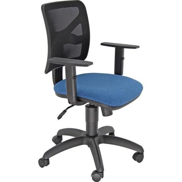 Sedia Operativa Con Braccioli.Offerta Sedia Operativa Ufficio Navigator Blu Con Braccioli