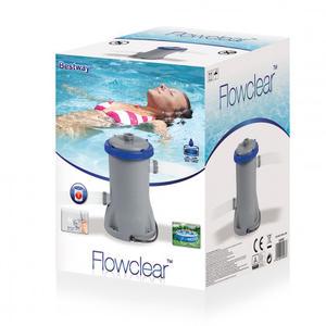 Pompa filtro piscina 2006lt/h con cartuccia inclusa 58383 con filtro 58094
