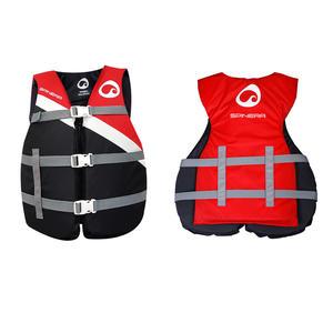 Giubbotto 50N in nylon di Spinera Nero/Rosso - Offerta di Mondo Nautica 24