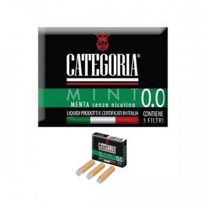 CATEGORIA FILTRI SENZA NICOTINA aroma MENTA