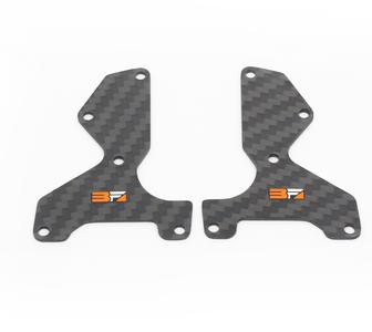 Mugen Seiki - Graphite Front Lower Suspension Arm Mount Plate