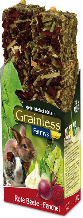 JR Farm Grainless Stick Farmys Finocchio e Barbabietola