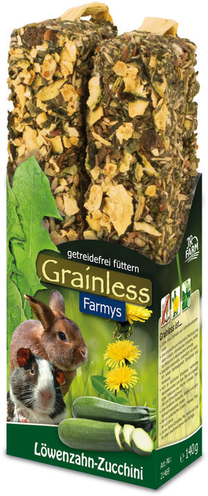 JR Farm Grainless Farmys Stick Dente di Leone - Zucchine