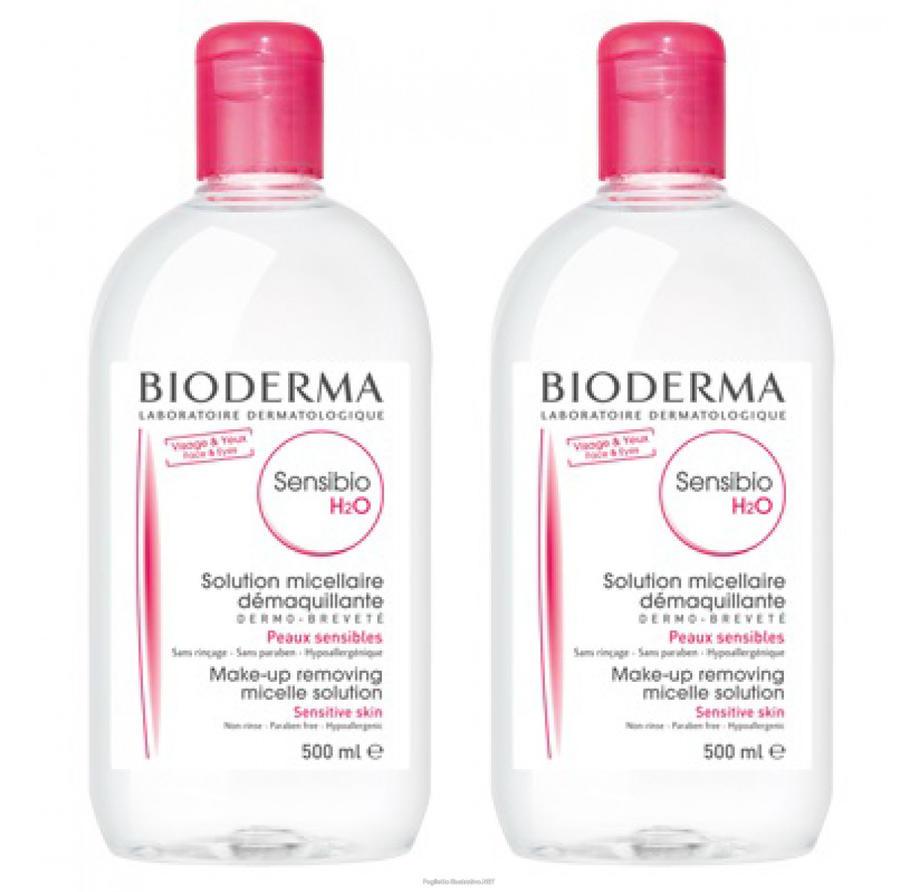 BIODERMA Sensibio H2O Acqua Micellare ►OFFERTA BIPACK 2x500ml◄