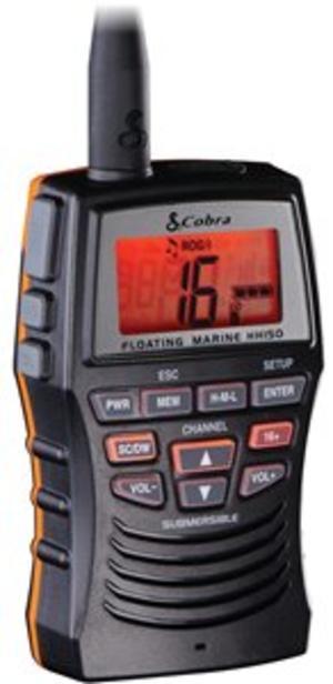 VHF Portatile COBRA MARINE MR HH150FLTE - Offerta di Mondo Nautica 24